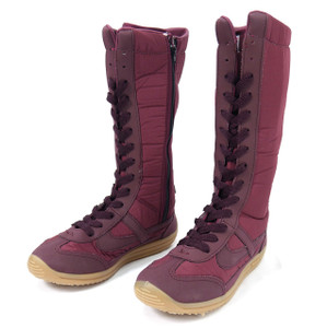 Panam - Burgundy and Red Unisex Boot Sneakers