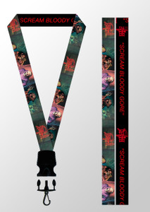 Death - Scream Bloody Gore Lanyard