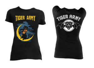Tiger Army Violin Cat Blouse T-Shirt