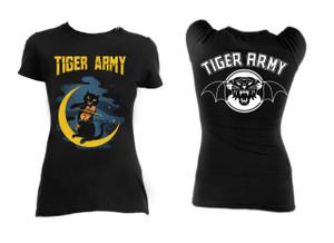 Tiger Army Violin Cat Girls T-Shirt