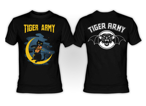 Tiger Army Violin Cat T-Shirt