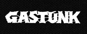 "Gastunk Logo 5x2"" Printed Patch"