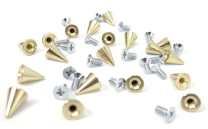 Gold Spike and Bolt 20 pieces