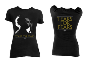 Tears for Fears Faces Girls T-Shirt