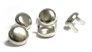 Circle Chrome Studs 100 pieces