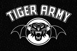 "Tiger Army Logo 7x4"" Printed Patch"