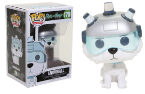 Pop! Figurines - Rick and Morty - Snowball #178