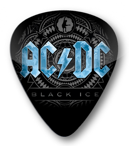 AC/DC - Black Ice Standard Guitar Pick
