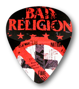 Bad Religion - Paper Cross Standard Guitar Pick
