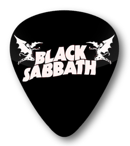 Black Sabbath Logo Standard Guitar Pick