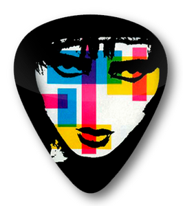 Siouxsie And The Banshees - Colored Face Standard Guitar Pick