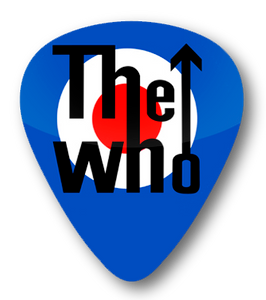 The Who - Mods Logo Standard Guitar Pick
