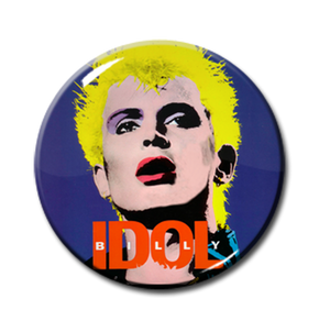"Billy Idol - Dancing With Myself 1"" Pin"