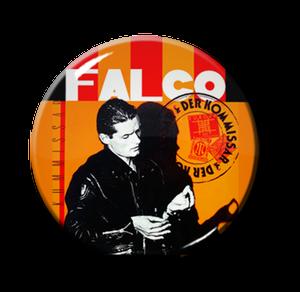 """Falco - Der Kommissar 1"""" Pin"""