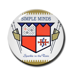 "Simple Minds - Sparkle in the Rain 1"" Pin"
