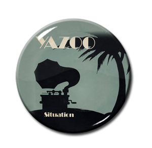 "Yazoo - Situation 1"" Pin"