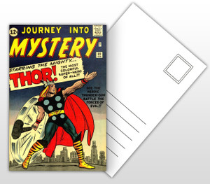Mighty Thor Comic Cover Postal Card