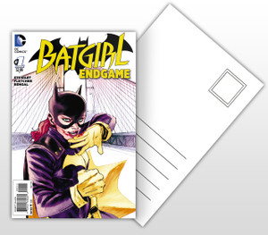 Batman - Batgirl End Game #1 Comic Cover Postal Card