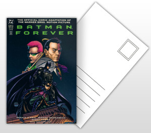 Batman Forever Comic Adaptation Comic Cover Postal Card