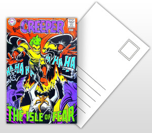 The Creepers The Isle of Fear Comic Cover Postal Card