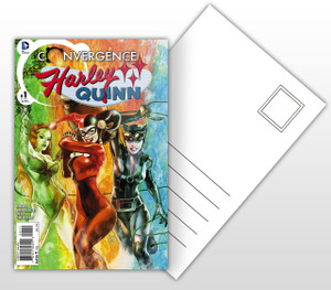 Harley Quinn #1 Comic Cover Postal Card