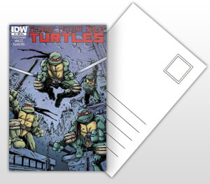 Teenage Mutant Ninja Turtles - #1 Comic Cover Postal Card