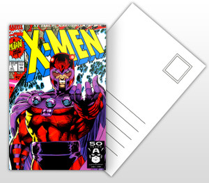 1st Issue A Legend Reborn! X-Men Varient #4 Comic Cover Postal Card
