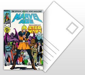 Marvel Age Star Wars Comic Cover Postal Card