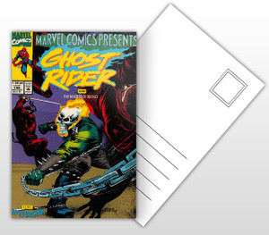 Ghost Rider - The Masters of Silence Comic Cover Postal Card