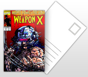 Wolverine - Weapon X Comic Cover Postal Card
