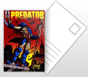 Predator #1 Comic Cover Postal Card