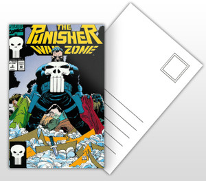 The Punisher War Zone #3 Comic Cover Postal Card