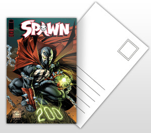 Spawn #200 Comic Cover Postal Card