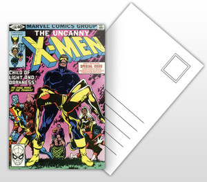 The Uncanny X-Men - Child of Light and Darkness Comic Cover Postal Card