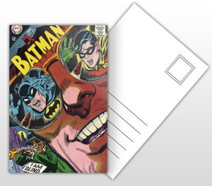 Batman #205 Blind as a… Bat Comic Cover Postal Card