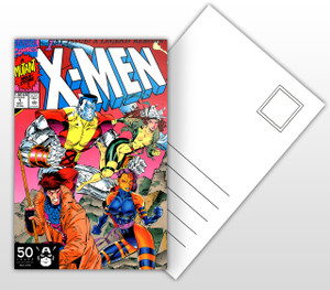 1st Issue A Legend Reborn! X-Men Varient #2 Comic Cover Postal Card