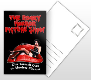 The Rocky Horror Picture Show Dr Franke-N-Furter Movie Poster Postal Card