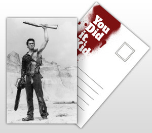 Army of Darkness This Is My Boomstick Movie Poster Postal Card
