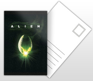 Alien Movie Poster Postal Card
