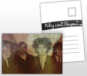 The Cure Why Can't I Be You? Album Cover Postal Card