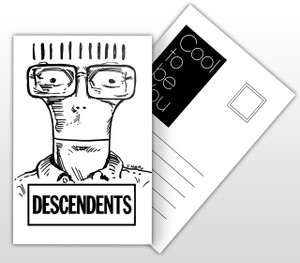 Descendents Cool To Be You Album Cover Postal Card