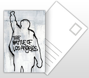 Rage Against The Machine The Battle of Los Angeles Album Cover Postal Card