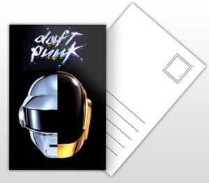 Daft Punk Random Access Memory Album Cover Postal Card
