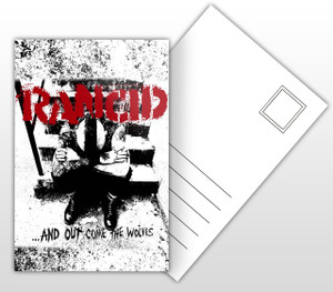 Rancid And Out Come The Wolves Album Cover Postal Card