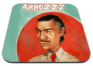 "Mauricio Garces - Arroz 9x7"" Mousepad"