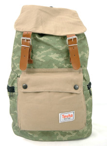 Tevha Supplies - Army Cammo Pattern Old Boy Backpack