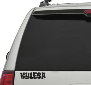 """Kylesa Logo 7x2"""" Vinyl Cut Sticker"""