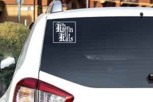 "The Koffin Kats Logo 6.5x6"" Vinyl Cut Sticker"