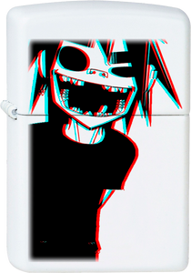 Gorillaz - 2-D White Lighter