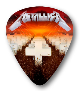 Metallica - Master of Puppets Standard Guitar Pick